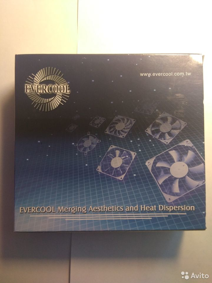 Вентилятор evercool EC12038M24S