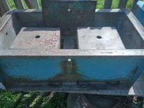 Формовочный модуль 2 шт для сарая для бань,и бур