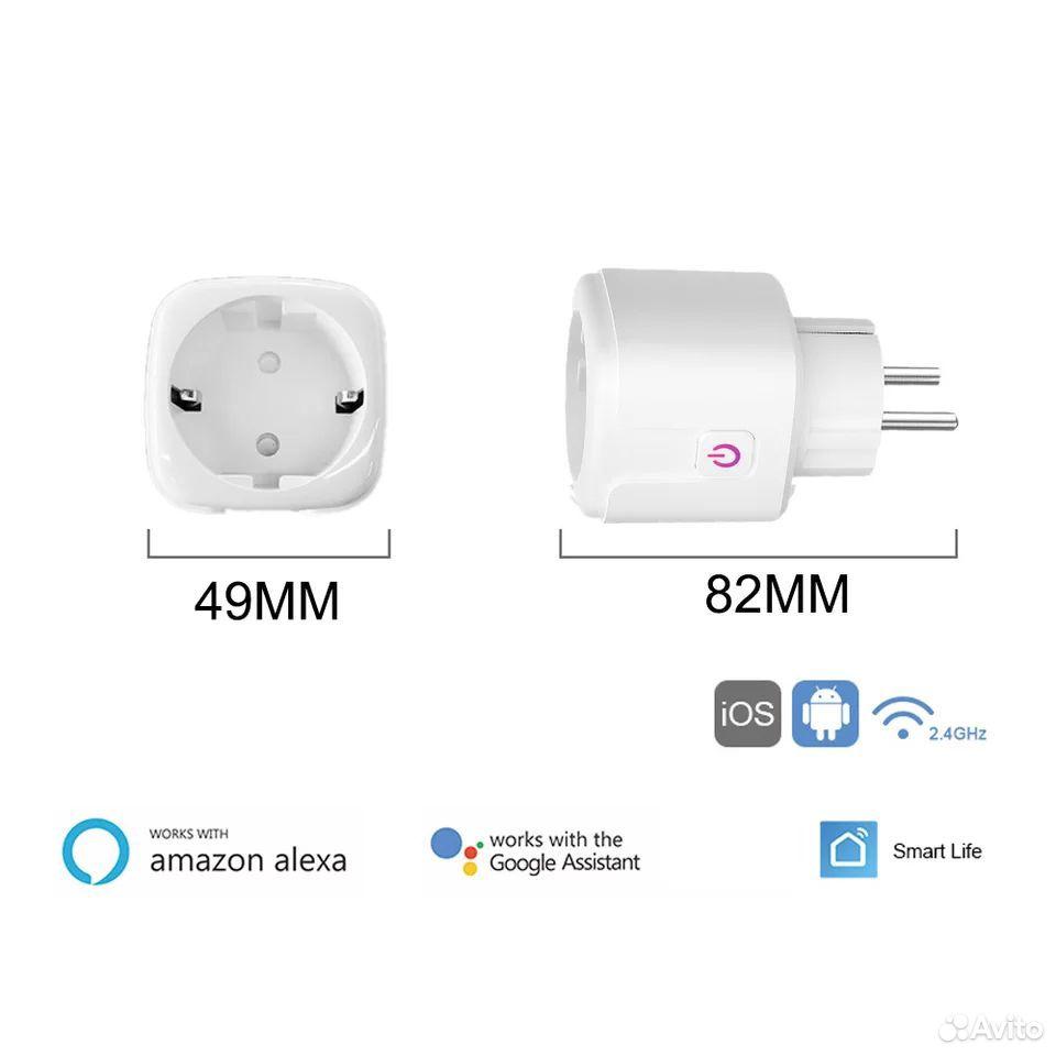 Wifi розетка для умного дома и управления  89193625435 купить 2
