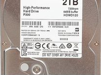 2 тб Жесткий диск Toshiba P300