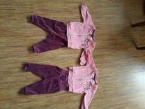 Флисовые костюмы для двойняшек