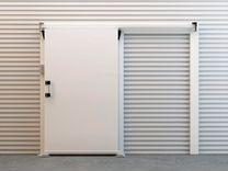Распашные, откатные холодильные двери Ирбис