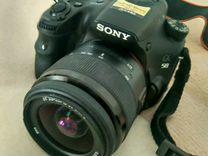 Фотоаппарат Sony Alpha SLT-A58 Kit 18-55