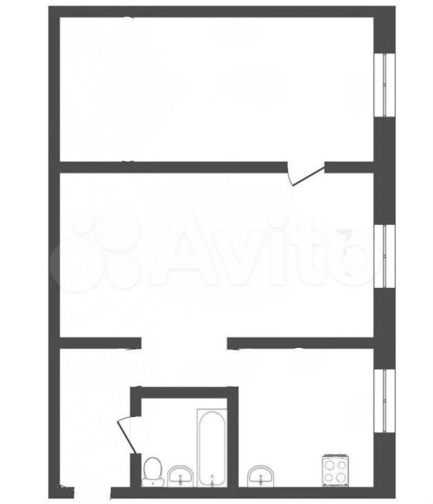 2-к квартира, 44 м², 5/5 эт. 89059915884 купить 6