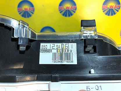 Комбинация приборов Subaru Forester SG5 EJ205 2002
