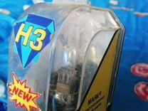 Противотуманки ultra H3 12 V 100W golden