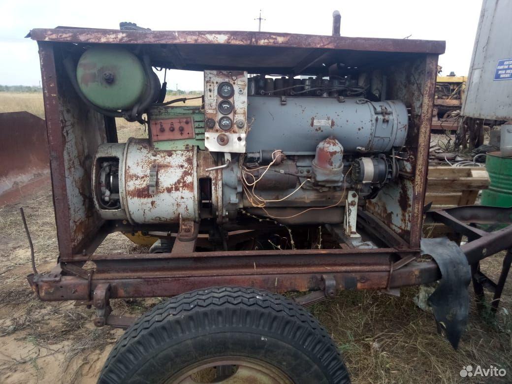 Двигатель на Т-40 на шасси
