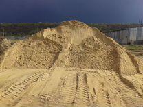 Песок для дренажа карьерный