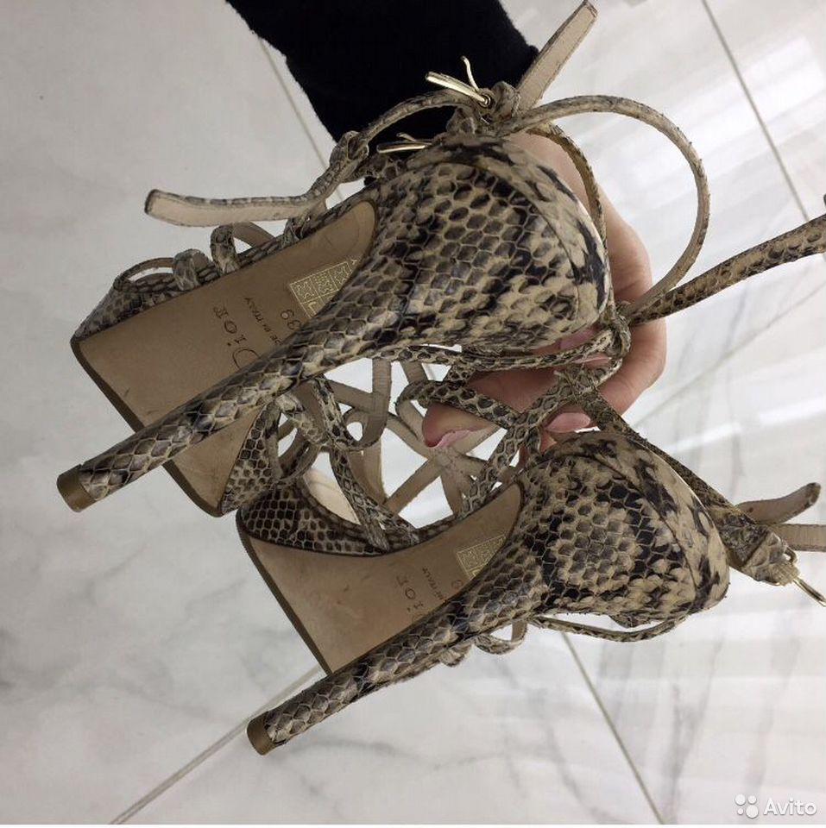 Босоножки Dior, оригинал  89283405383 купить 3